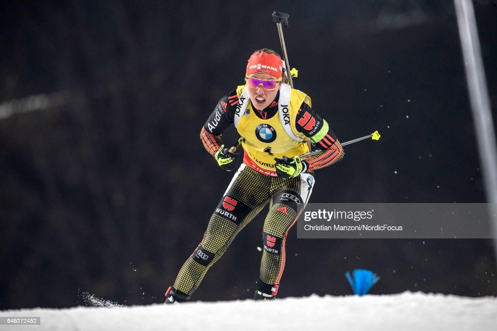 BMW IBU World Cup Biathlon PyeongChang - 10 km Women's Pursuit : News Photo