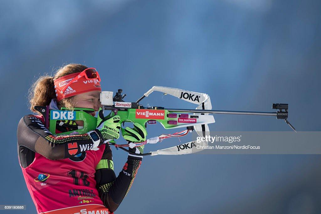 BMW IBU World Cup Biathlon Antholz-Anterselva - 15 km Women's Individual : News Photo