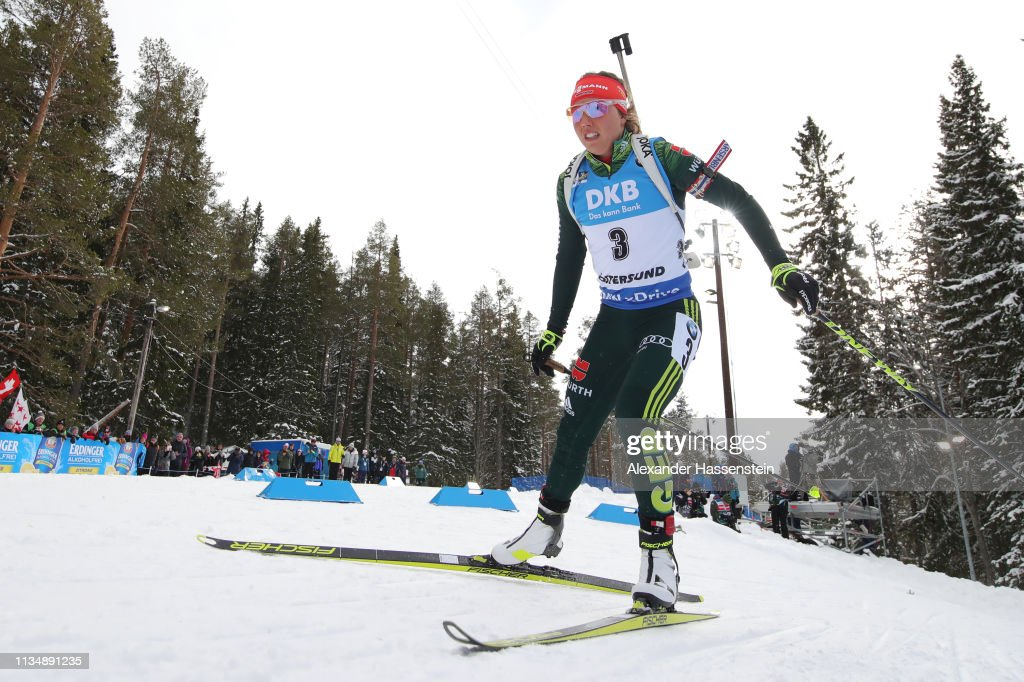 SWE: IBU Biathlon World Championships - Men's and Women's Pursuit