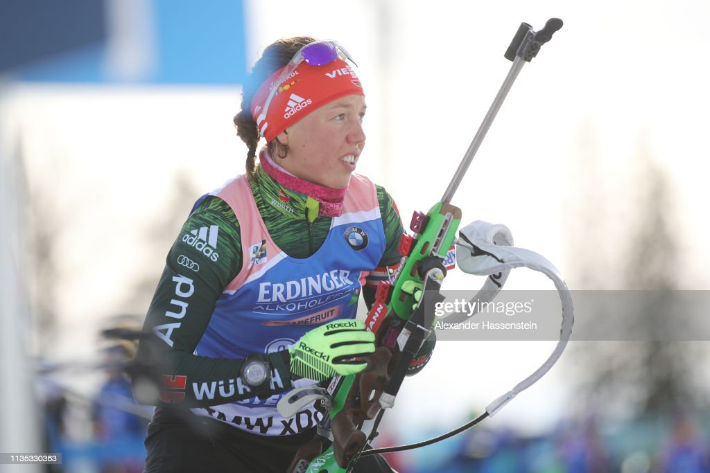 SWE: IBU Biathlon World Championships - Women's 15km