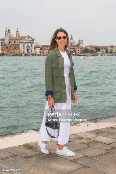 Laura De Gunzburg attends the CAMEO by Lizworks launch event at Harry's Dolci, during the 58th Venice Biennale on May 8, 2019 in Venice, Italy.
