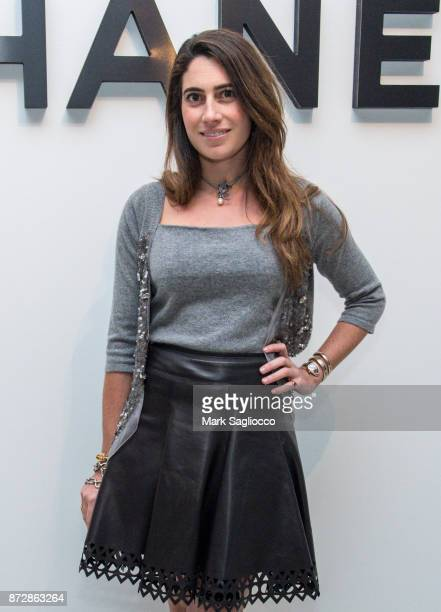 Laura de Gunzburg of The Cultivist attends the CHANEL celebration of the launch of The Coco Club at The Wing Soho on November 10 2017 in New York City