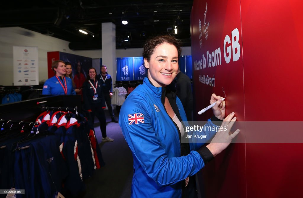 Team GB Kitting Out Ahead Of Pyeongchang 2018 Winter Olympic Games : News Photo