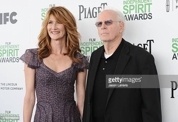 Laura Dern and Bruce Dern attends the 2014 Film Independent Spirit Awards on March 1 2014 in Santa Monica California