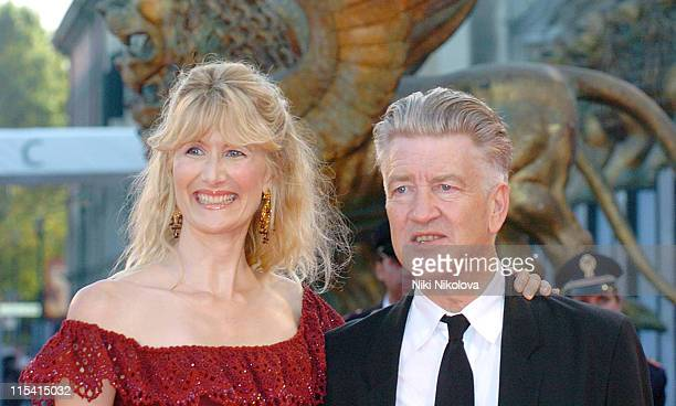 """Laura Dern and David Lynch during The 63rd International Venice Film Festival - """"Inland Empire"""" Premiere - Arrivals at Lido in Venice, Italy."""