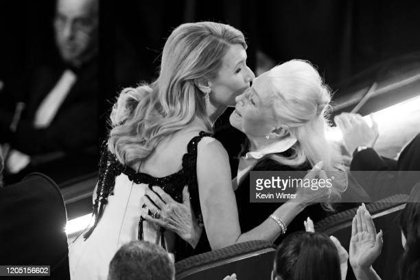 Laura Dern and Diane Ladd attend the 92nd Annual Academy Awards at Dolby Theatre on February 09, 2020 in Hollywood, California.