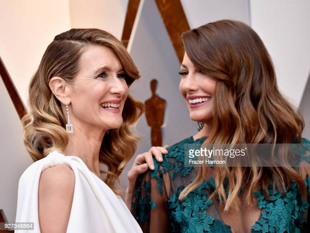 Laura Dern and guest attend the 90th Annual Academy Awards at Hollywood & Highland Center on March 4, 2018 in Hollywood, California.