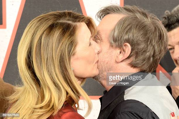 Laura Dern and Mark Hamill attend the 'Star Wars The Last Jedi' photocall at Corinthia Hotel London on December 13 2017 in London England