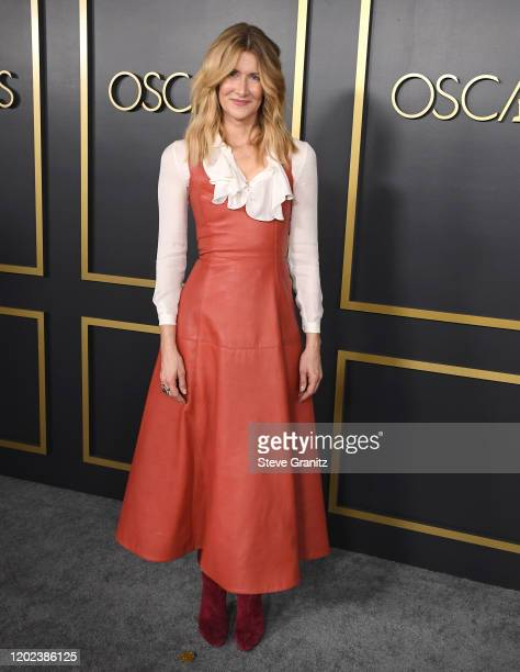 Laura Dern arrives at the 92nd Oscars Nominees Luncheon on January 27, 2020 in Hollywood, California.