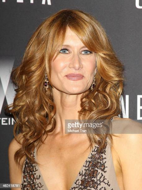 Laura Dern arrives at The Weinstein Company and NetFlix 2014 Golden Globe Awards after party held on January 12 2014 in Beverly Hills California