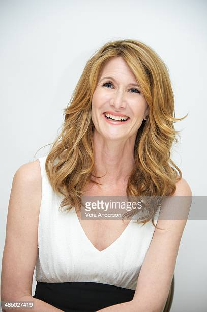 """Laura Dern at """"The Fault In Our Stars"""" Press Conference at the Four Seasons Hotel on April 14, 2014 in Beverly Hills, California."""