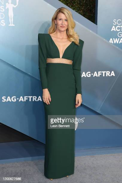 Laura Dern attends 26th Annual Screen Actors Guild Awards at The Shrine Auditorium on January 19, 2020 in Los Angeles, California.