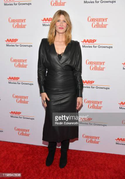 Laura Dern attends AARP The Magazine's 19th Annual Movies For Grownups Awards at Beverly Wilshire, A Four Seasons Hotel on January 11, 2020 in...