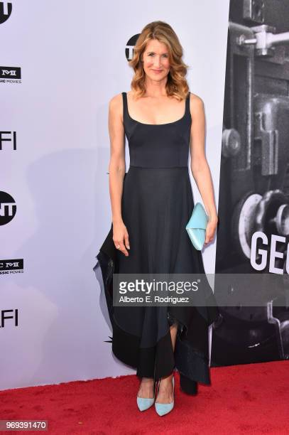 Laura Dern attends American Film Institute's 46th Life Achievement Award Gala Tribute to George Clooney at Dolby Theatre on June 7 2018 in Hollywood...