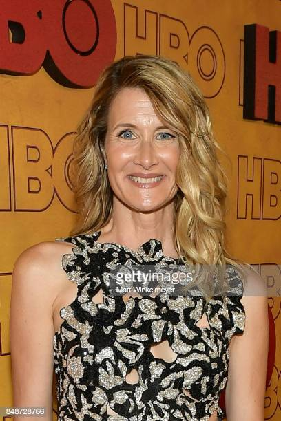 Laura Dern attends HBO's Post Emmy Awards Reception at The Plaza at the Pacific Design Center on September 17 2017 in Los Angeles California