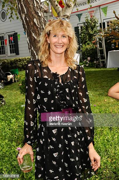 Laura Dern attends LA Loves Alex's Lemonade At Culver Studios at Culver Studios on September 29 2012 in Culver City California