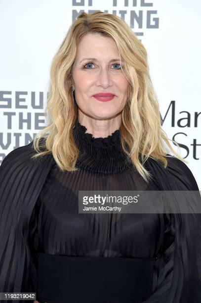 Laura Dern attends Marriage Story Museum of the Moving Image Awards at the Museum of the Moving Image on December 10 2019 in Astoria City