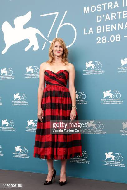 Laura Dern attends Marriage Story photocall during the 76th Venice Film Festival at Sala Grande on August 29 2019 in Venice Italy
