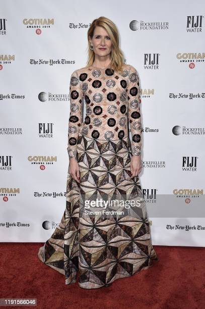 Laura Dern attends the 2019 IFP Gotham Awards at Cipriani Wall Street on December 02, 2019 in New York City.