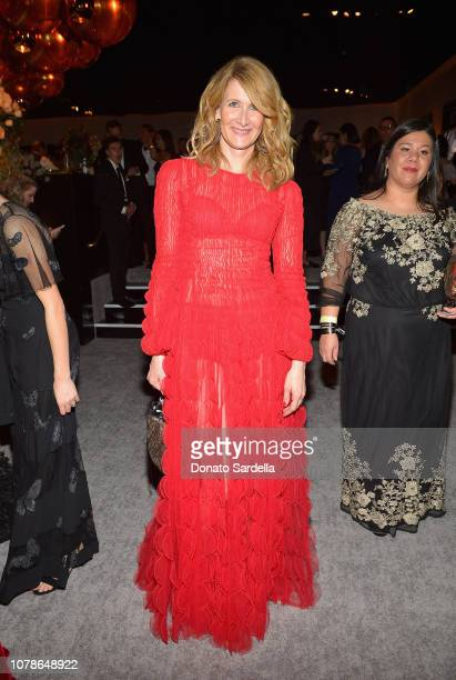 Laura Dern attends the 2019 InStyle and Warner Bros 76th Annual Golden Globe Awards PostParty at The Beverly Hilton Hotel on January 6 2019 in...
