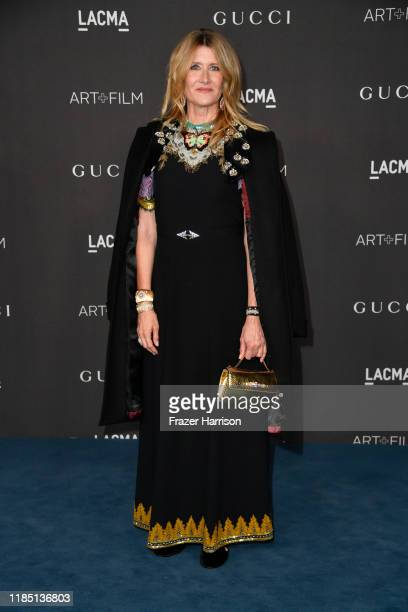 Laura Dern attends the 2019 LACMA 2019 Art Film Gala Presented By Gucci at LACMA on November 02 2019 in Los Angeles California