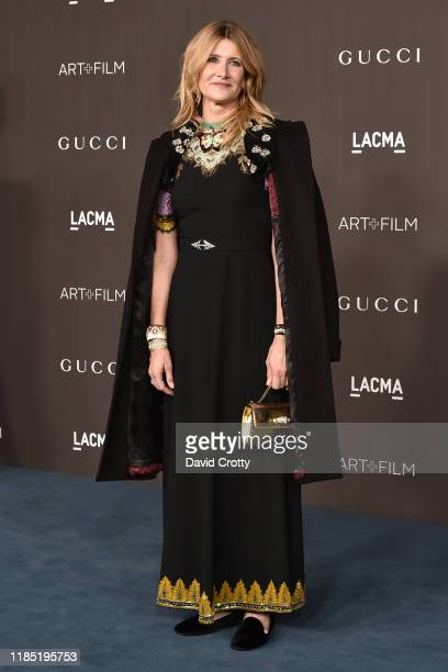 Laura Dern attends the 2019 LACMA Art Film Gala at LACMA on November 02 2019 in Los Angeles California