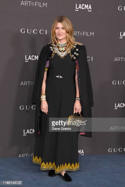 Laura Dern attends the 2019 LACMA Art Film Gala Presented By Gucci at LACMA on November 02 2019 in Los Angeles California