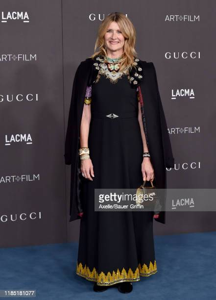Laura Dern attends the 2019 LACMA Art Film Gala Presented By Gucci on November 02 2019 in Los Angeles California