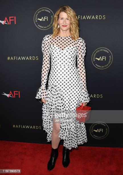 Laura Dern attends the 20th Annual AFI Awards at Four Seasons Hotel Los Angeles at Beverly Hills on January 03 2020 in Los Angeles California