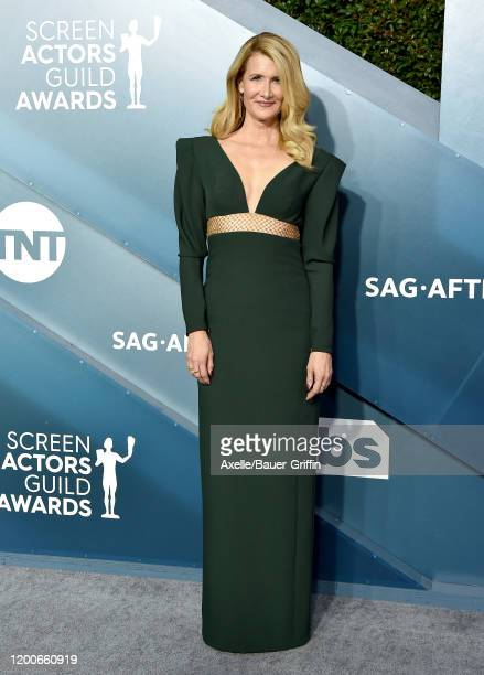 Laura Dern attends the 26th Annual Screen Actors Guild Awards at The Shrine Auditorium on January 19, 2020 in Los Angeles, California.