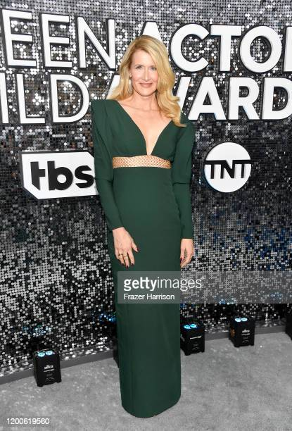 Laura Dern attends the 26th Annual Screen ActorsGuild Awards at The Shrine Auditorium on January 19 2020 in Los Angeles California