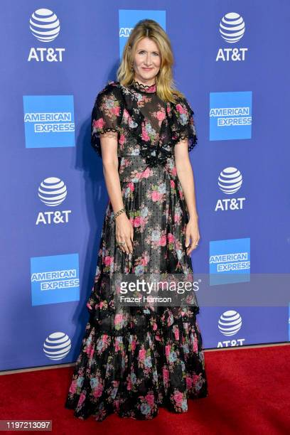 Laura Dern attends the 31st Annual Palm Springs International Film Festival Film Awards Gala at Palm Springs Convention Center on January 02 2020 in...
