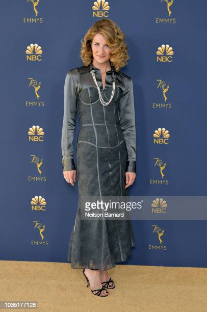 Laura Dern attends the 70th Emmy Awards at Microsoft Theater on September 17 2018 in Los Angeles California