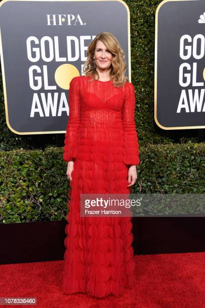 Laura Dern attends the 76th Annual Golden Globe Awards at The Beverly Hilton Hotel on January 6 2019 in Beverly Hills California