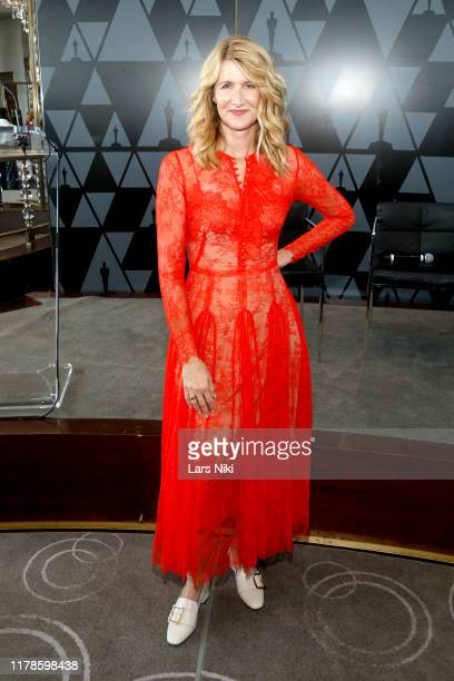 Laura Dern attends the Academy of Motion Picture Arts Sciences' Women's Initiative New York luncheon in partnership with E Entertainment and with the...