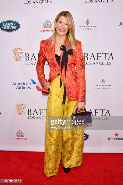 Laura Dern attends The BAFTA Los Angeles Tea Party at Four Seasons Hotel Los Angeles at Beverly Hills on January 04 2020 in Los Angeles California