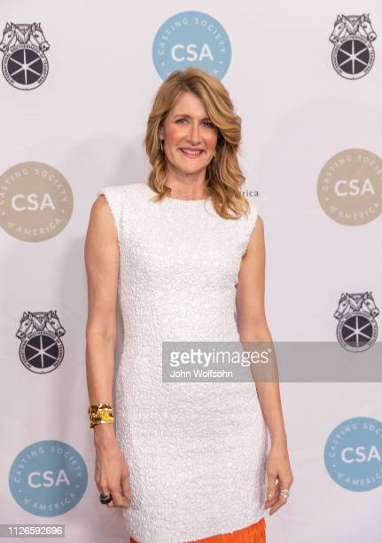 Laura Dern attends The Casting Society of America's 34th Annual Artios Awards at The Beverly Hilton Hotel on January 31 2019 in Beverly Hills...