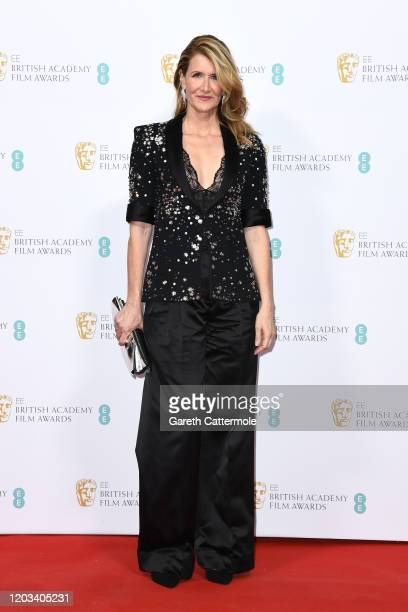 Laura Dern attends the EE British Academy Film Awards 2020 Nominees' Party at Kensington Palace on February 01, 2020 in London, England.