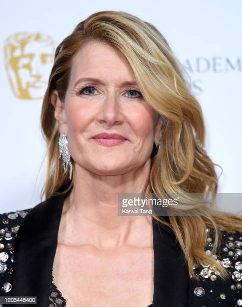 Laura Dern attends the EE British Academy Film Awards 2020 Nominees' Party at Kensington Palace on February 01 2020 in London England