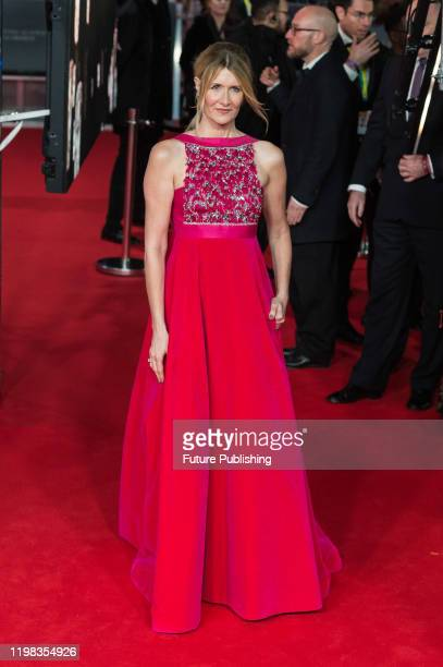 Laura Dern attends the EE British Academy Film Awards ceremony at the Royal Albert Hall on 02 February, 2020 in London, England.- PHOTOGRAPH BY...