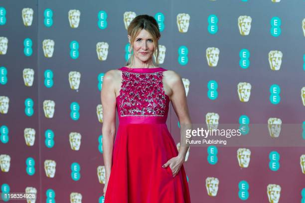 Laura Dern attends the EE British Academy Film Awards ceremony at the Royal Albert Hall on 02 February 2020 in London England PHOTOGRAPH BY Wiktor...