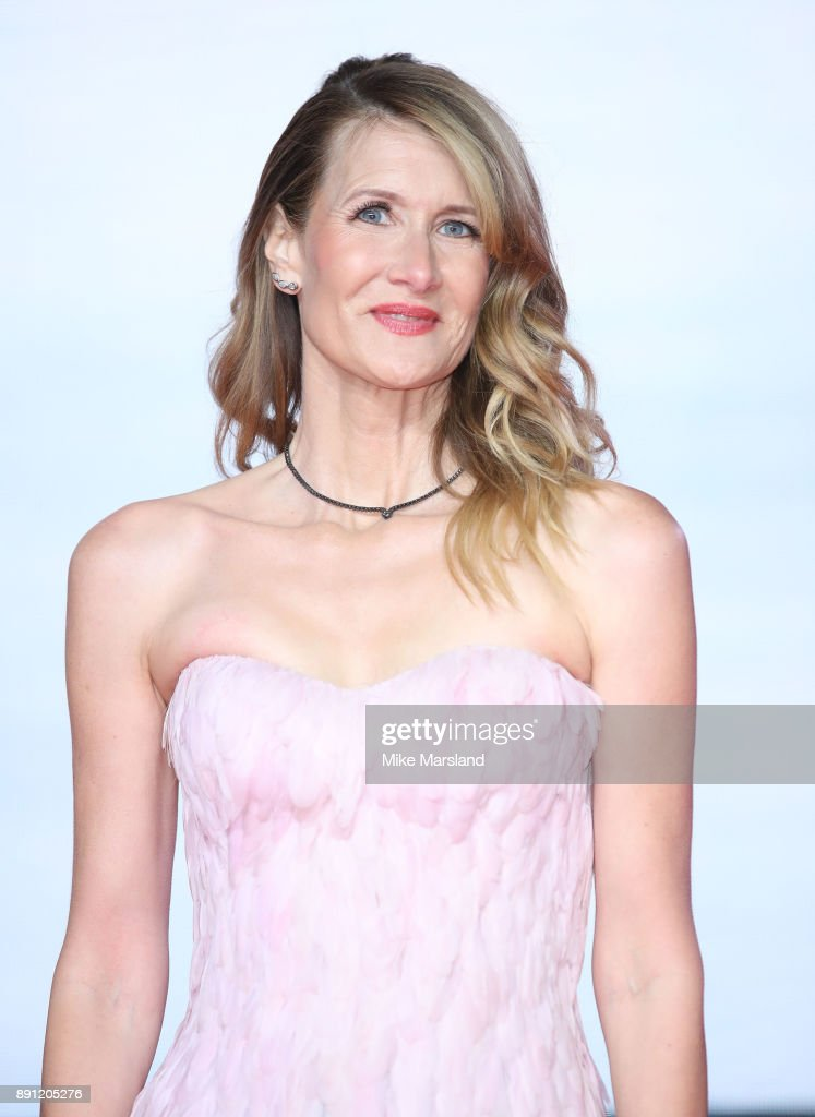 Laura Dern attends the European Premiere of 'Star Wars: The Last Jedi' at Royal Albert Hall on December 12, 2017 in London, England.