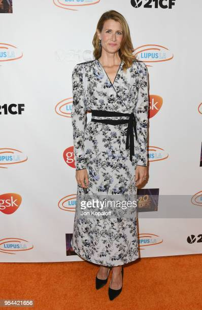 Laura Dern attends the Lupus LA's 2018 Orange Ball at the Beverly Wilshire Four Seasons Hotel on May 3 2018 in Beverly Hills California