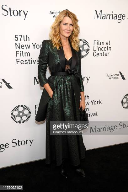 Laura Dern attends the Marriage Story premiere at 57th New York Film Festival on October 04 2019 in New York City