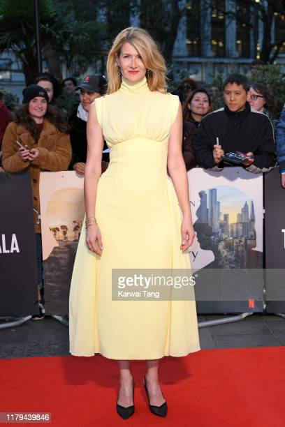 Laura Dern attends the Marriage Story UK Premiere during the 63rd BFI London Film Festival at the Odeon Luxe Leicester Square on October 06 2019 in...