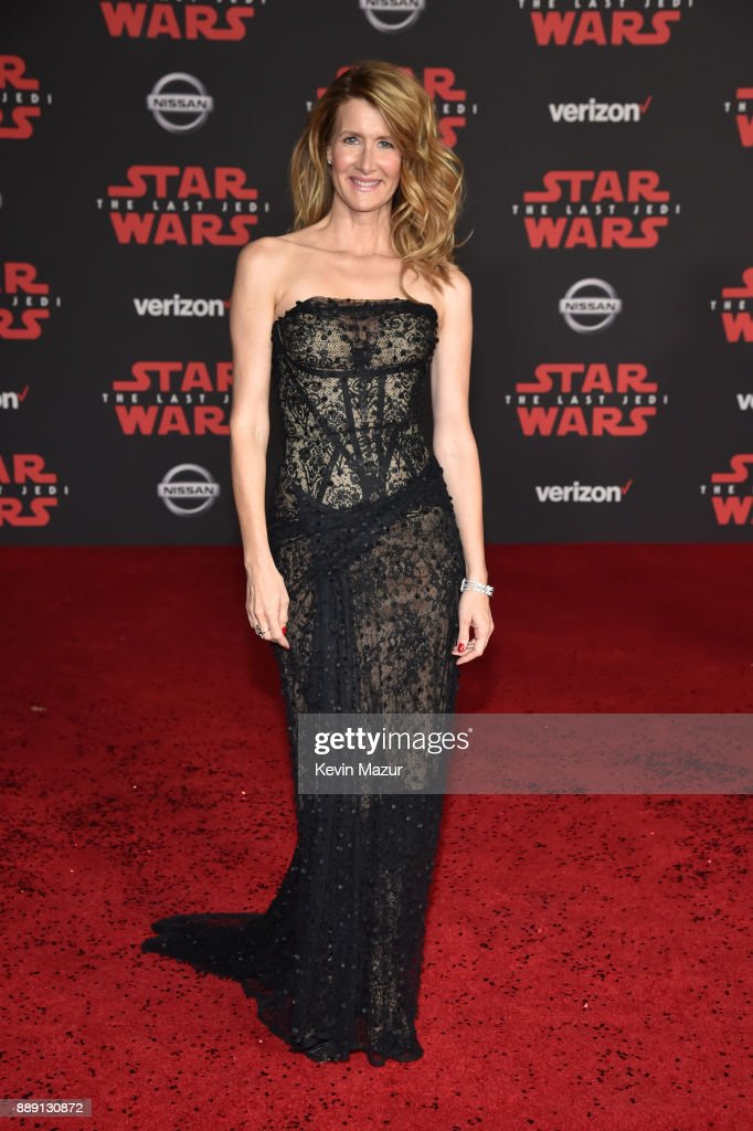 Laura Dern attends the premiere of Disney Pictures and Lucasfilm's 'Star Wars: The Last Jedi' at The Shrine Auditorium on December 9, 2017 in Los Angeles, California.