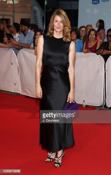 Laura Dern attends the premiere of 'Jeremiah Terminator LeRoy' at Roy Thomson Hall on September 15 2018 in Toronto Canada