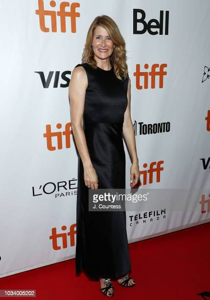 """Laura Dern attends the premiere of """"Jeremiah Terminator LeRoy"""" at Roy Thomson Hall on September 15, 2018 in Toronto, Canada."""