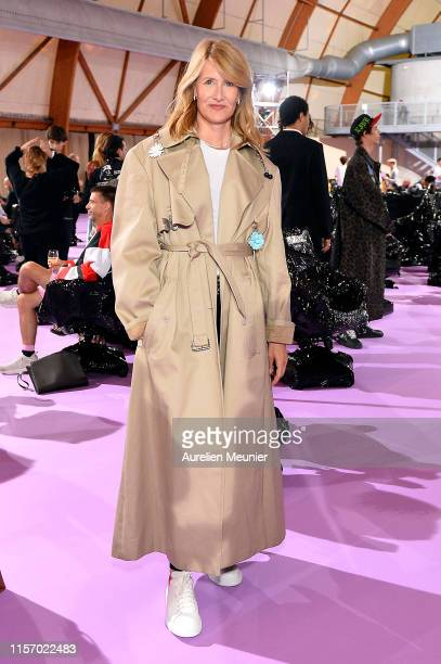 Laura Dern attends the Raf Simons Menswear Spring Summer 2020 show as part of Paris Fashion Week on June 19 2019 in Paris France