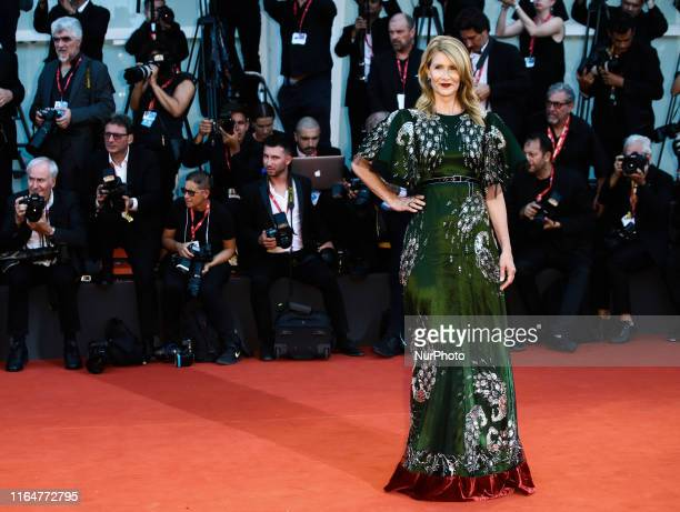 Laura Dern attends the red carpet ahead of the quotMarriage Storyquot screening during during the 76th Venice Film Festival on August 29 2019 in...